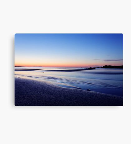 sunset of Malia Canvas Print