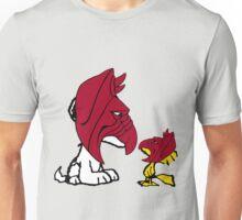 Battle Dog and Battle Bird Unisex T-Shirt