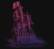Ghost Ship Pink by calroofer