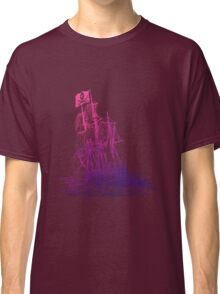 Ghost Ship Pink Classic T-Shirt
