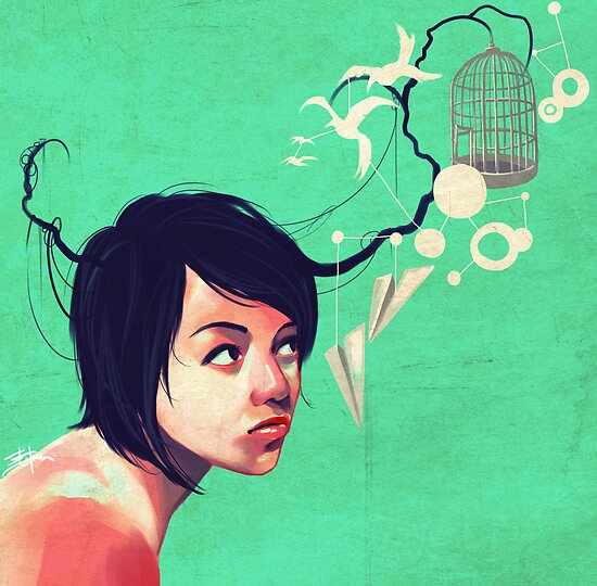 the daydream by Eevien Tan