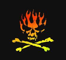 Fire Skull Unisex T-Shirt