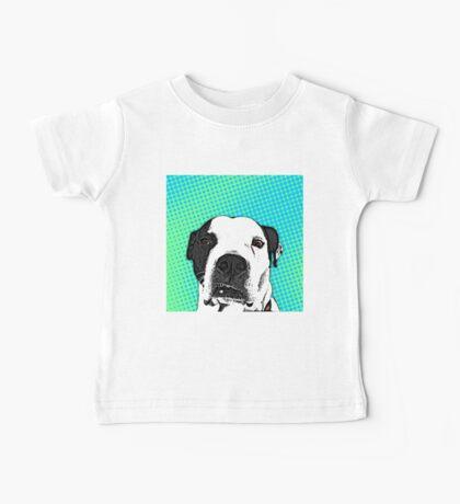 Pop Art Pitbull Baby Tee