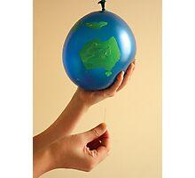 Pop the balloon Photographic Print