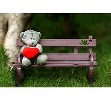 Waiting for love... Photographic Print