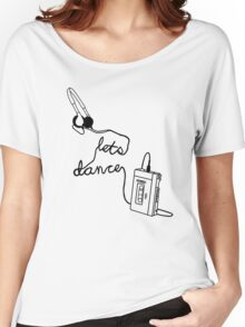 Let's Dance (cable) - Footloose Women's Relaxed Fit T-Shirt