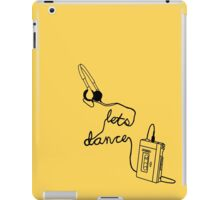 Let's Dance (cable) - Footloose iPad Case/Skin