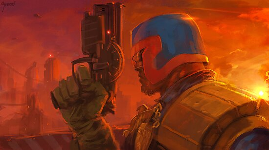 East of Dredd by Grrrod