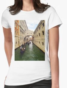 Bridge of Signs in Venice T-Shirt