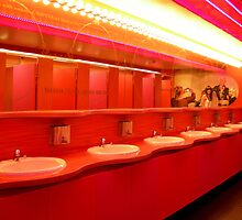 Pink Funhouse Concert Tour  -   Bathroom by Dareimages