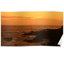 Tobacco sunset........ Poster