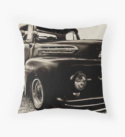 1952 Ford Pick-Up Throw Pillow