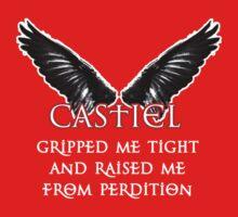 Castiel Gripped Me Tight