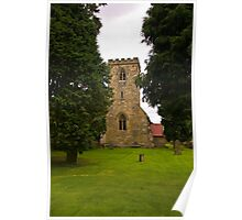 St Mary's Church - Myton on Swale Poster