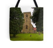 St Mary's Church - Myton on Swale Tote Bag