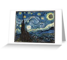 DeathStarry Night Greeting Card
