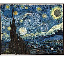 DeathStarry Night Photographic Print
