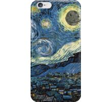 DeathStarry Night iPhone Case/Skin