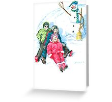 Let's Do It Again! Greeting Card