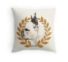 French Bulldog - @french_alice Throw Pillow