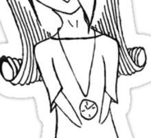 Cute Chibi/Anime Girl Sticker