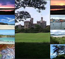 Hebridean Collage featuring Lews Castle by BlueMoonRose