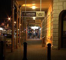 Nightlife in Mount Gambier by Evan Steele