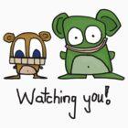 Watching You by MuscularTeeth