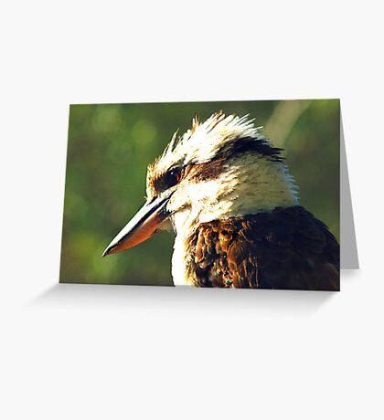 Kookaburra King Greeting Card