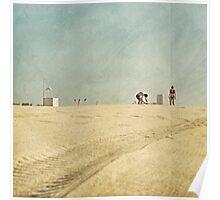beach builders Poster
