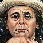 Doctor Who: Sylvester McCoy by marksatchwillart