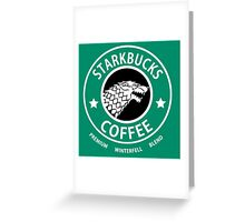 Game of Thrones Starbucks Coffee Greeting Card