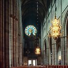 West end of nave Domkirke Uppsala Sweden 198406160064 by Fred Mitchell