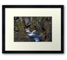 close to the water Framed Print