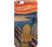 C-SCREAM-PO iPhone Case/Skin