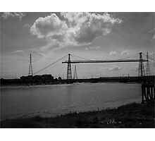 Transporter Bridge Photographic Print