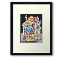 Magical Doll House Framed Print