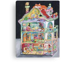 Magical Doll House Canvas Print