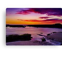 """Ebb Tide Dawn"" Canvas Print"