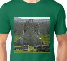 Ireland - Abbey and Sheep Unisex T-Shirt