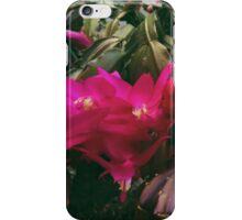 Floral concrete scape iPhone Case/Skin