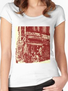 Paul's Boutique Women's Fitted Scoop T-Shirt