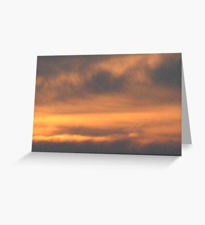 Dusk Tones Greeting Card