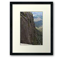 Pulpit Rock Vista Framed Print