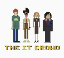 The IT Crowd – Roy, Moss, Jen and Douglas by PonchTheOwl