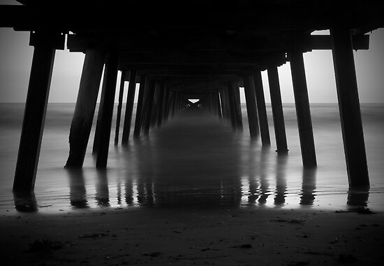 Under the Jetty (Henley Beach) by Darryl Leach