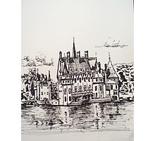 Chateau Missillac Photographic Print