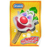 Killer Klown Popsicle Poster