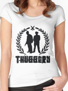 THUGGERY Women's Fitted Scoop T-Shirt