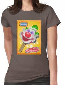 Killer Klown Popsicle Womens Fitted T-Shirt